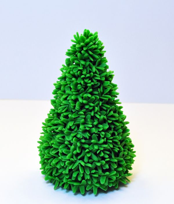 Judy's Cakes: Christmas Tree Tutorial #10
