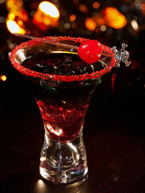 Black Widow Shot #halloween #holidaydrinks #LiquorList @LiquorListcom www.LiquorList.com
