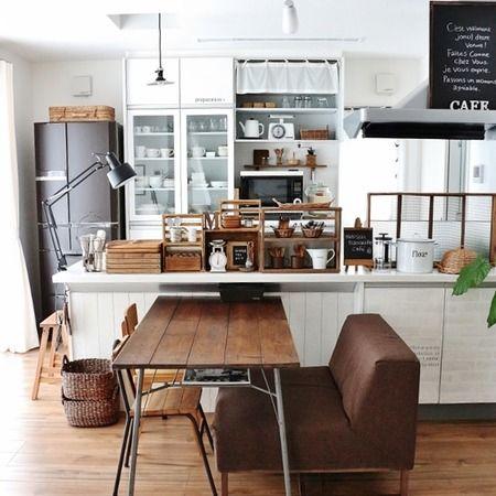カフェ風キッチンの作り方|おすすめ100均~賃貸もOKなインテリア方法