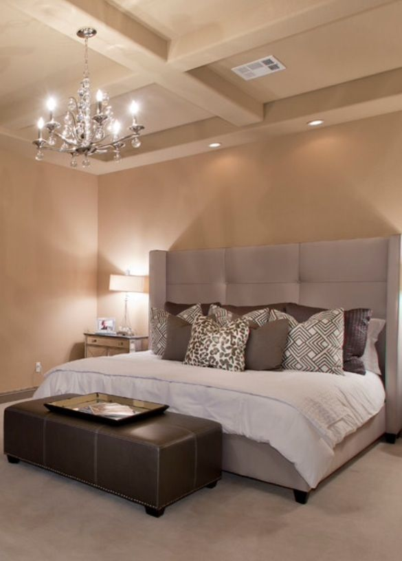 Gorgeous Bedrooms On Pinterest Contemporary Bedroom Master Bedrooms And Headboards