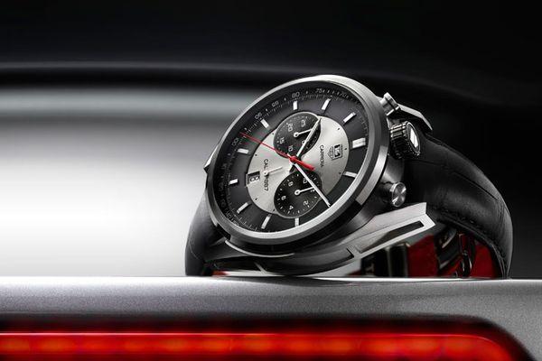 タグホイヤー人気モデル・カレラ。スポーティーモダンな腕時計で男を格上げ