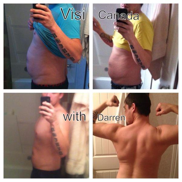 visi weight loss results