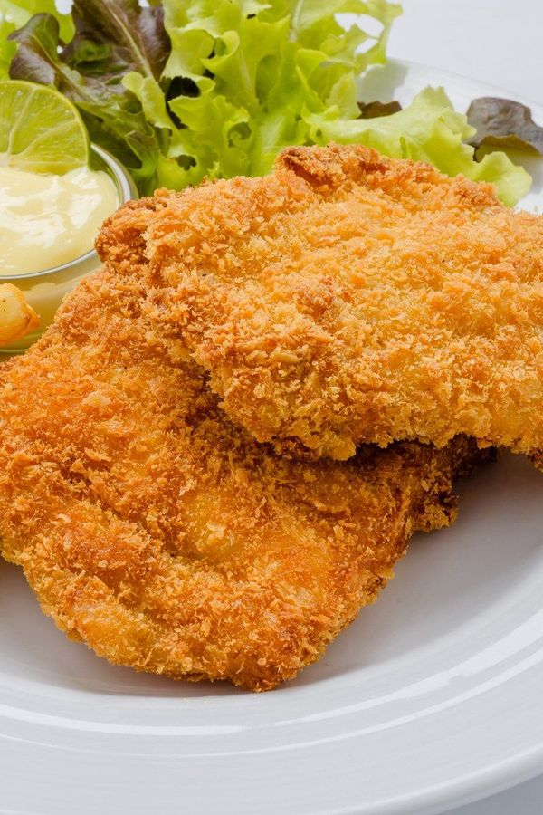 Baked Corn Flake and Sour Cream Crusted Chicken Breast Recipe - Gluten Free