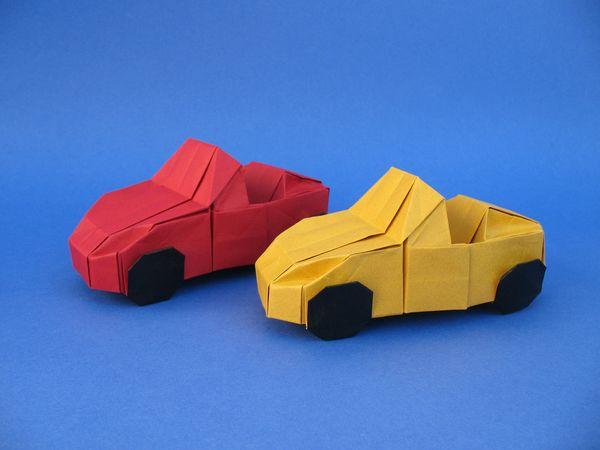 バラ 折り紙 車 折り紙 : hagifood.com