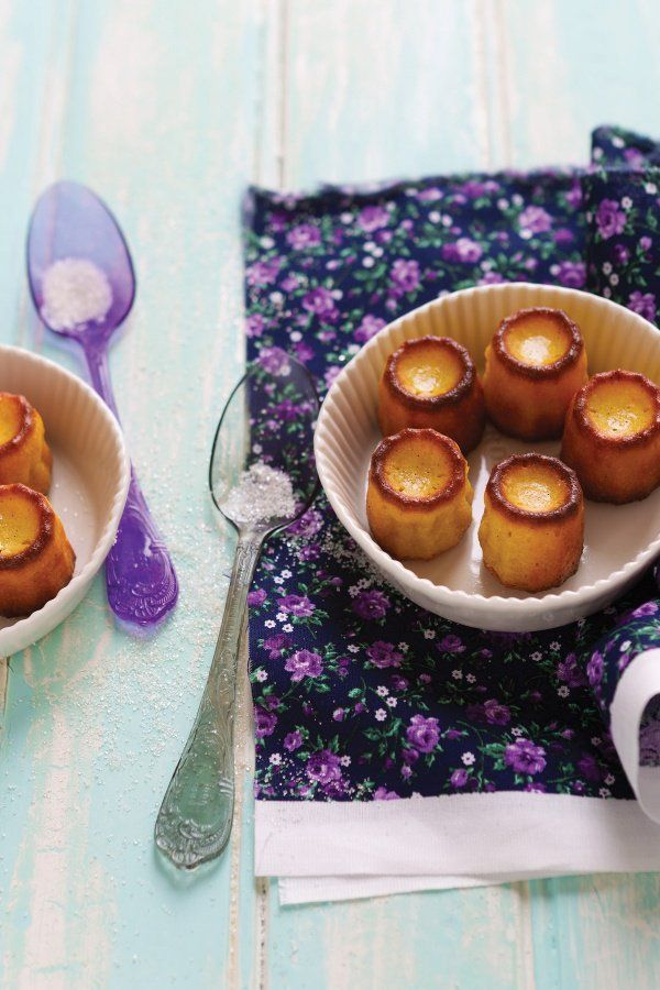 Vanilla and Orange Cannelés | Guest Recipes | Nigella's Recipes | Nigella Lawson