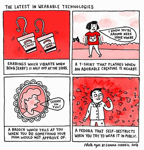 Gemma Correll and he