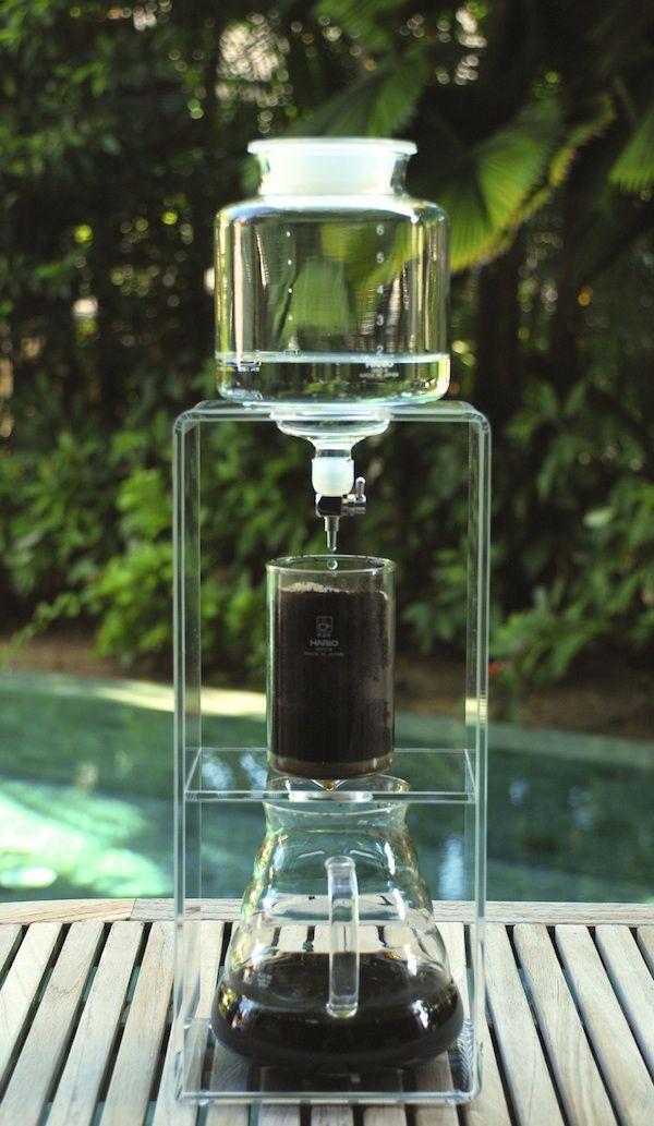 水出しコーヒーのドリッパー、これは器具ではなくインテリアです