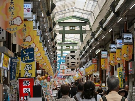天神橋筋商店街の魅力がこれでわかる!?食べ歩きを大満喫♡