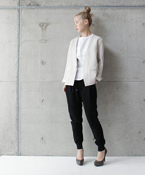 ●ダブルクロス スリムイージーPT(パンツ)|So 1:1(ソウ ワンバイワン)のファッション通販 - ZOZOTOWN