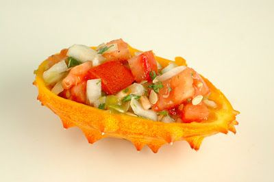 Kiwano or Horned Melon Fruit | High/Low Food/Drink