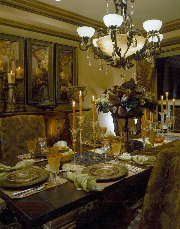 Tuscan design the wall and ceilings on pinterest for Tuscan dining room wall art