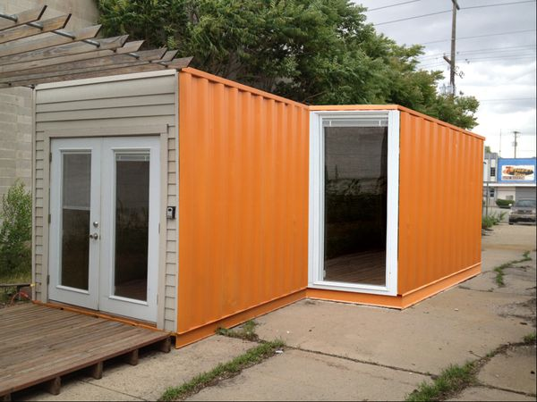 Shipping containers foundation and the container on pinterest - Foundations for shipping container home ...