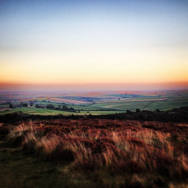Sun setting at Hardy