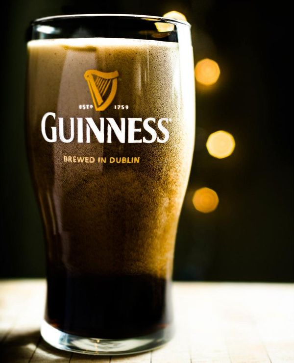 Guinness beer photography