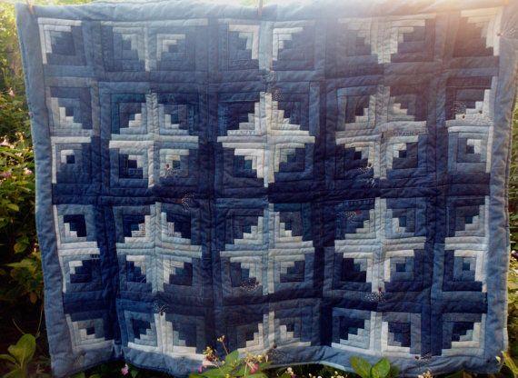 Blue Jean Quilt Log
