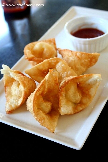 Cream Cheese Wontons (Panda Express Rangoons Copycat Recipe )