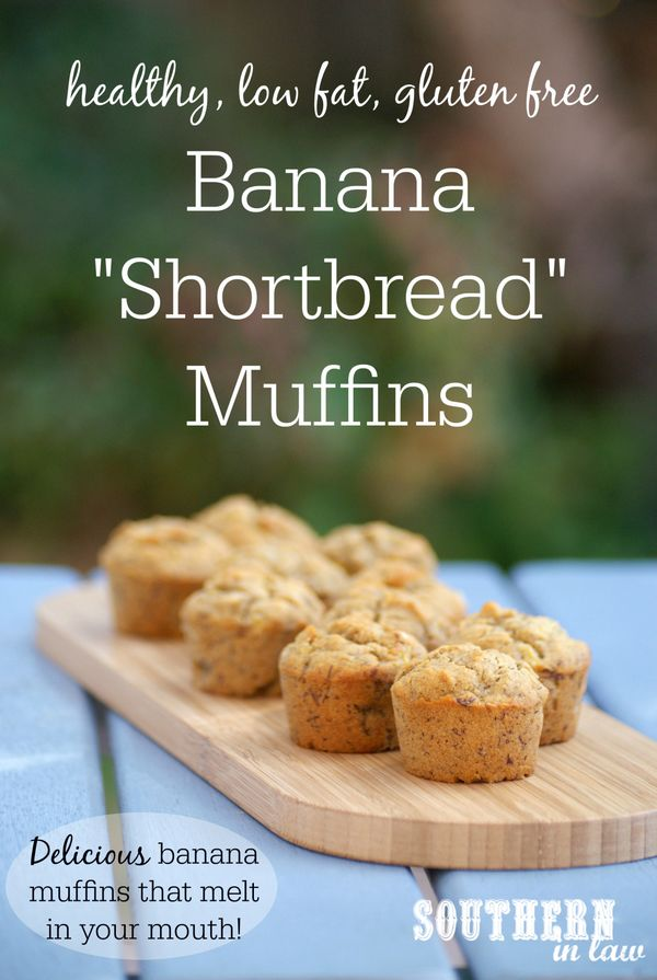 These Banana Shortbread Muffins are so easy to make just melt in your mouth - and you would never believe that they are healthy or gluten free! Low fat, gluten free, low sugar, egg free/eggless and there is even a vegan option! Made with sorghum flour for a unique texture and incredible taste