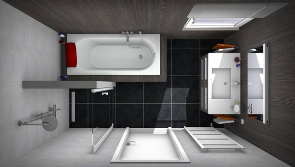 Voorbeelden Badkamer Ontwerpen Pictures