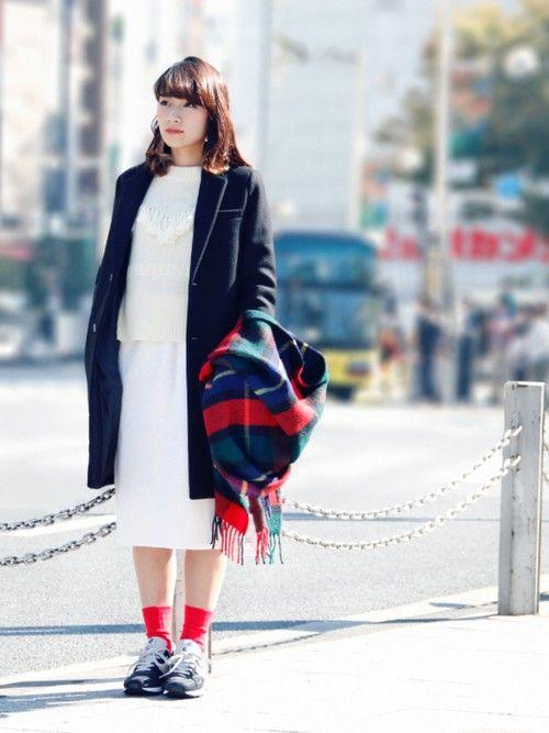 ショップスタッフ ARAI SATOMI│FREAK'S STOREのチェスターコートコーディネート-WEAR