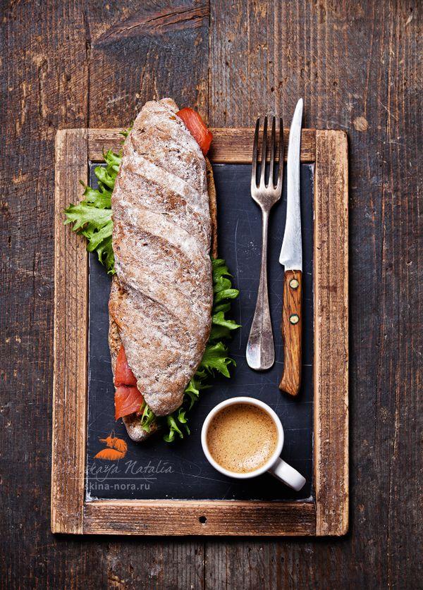 сендвич с лососем by Natalia Lisovskaya, via 500px