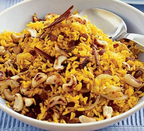 Spicy Indian rice | Sara Buenfeld's delicious spicy rice is perfect served with your favourite curry