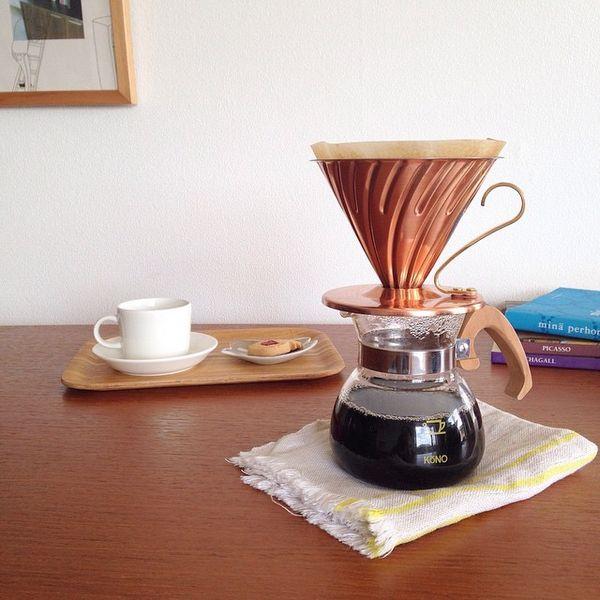 ハンドドリップコーヒーのお供!おすすめのドリッパー5選
