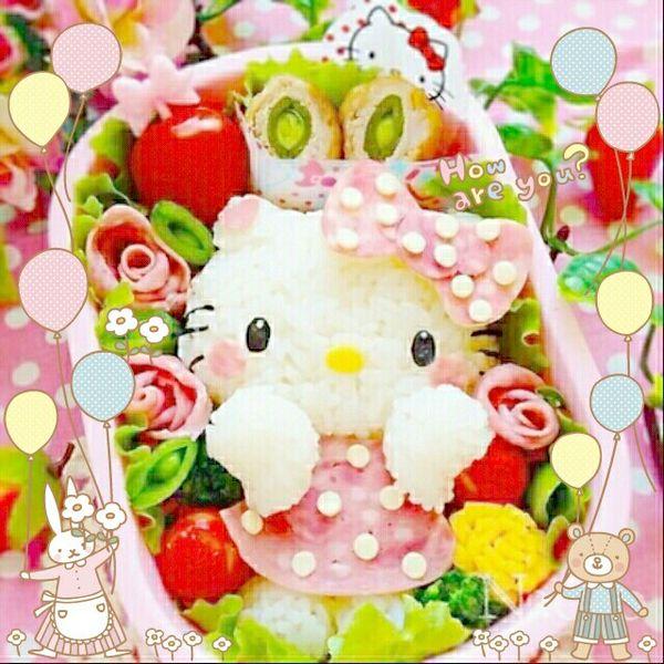 とってもかわいくてカラフルなキャラ弁でお昼休憩♡  かわいすぎて、どれから食べようか迷いますね!  今日もステキな1日になることまちがいなし!   Look how cute this lunchbox is !  I'm sure you will have a nice day after having this lunch♡   Photo taken onKawaii★Cam    JoinKawaii★Camnow :)   For iOS:   https://itunes.apple.com/jp/app/kawaii-xie-zhen-jia-gonghakawaiikamu*./id529446620?mt=8    For Android :   https://play.google.com/store/apps/details?id=jp.co.aitia.whatifcamera    Follow me on Twitter :)   https://twitter.com/WhatIfCamera    Follow me on Pinterest :)   https://pinterest.com/kawaiicam/    #kawaiicam#deco#hellokittypics#hellokitty#sanrio#japanese#japan#tokyo#kawaii#cute#lunchbox#japanesefood  #サンリオ#カワイイカム#ハローキティ#キティちゃん#キャラ弁