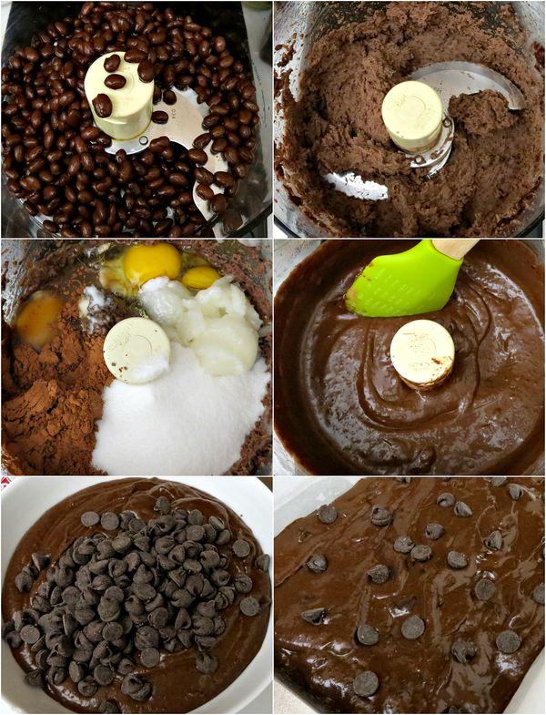 Gluten Free Flourless Black Bean Brownies Recipe