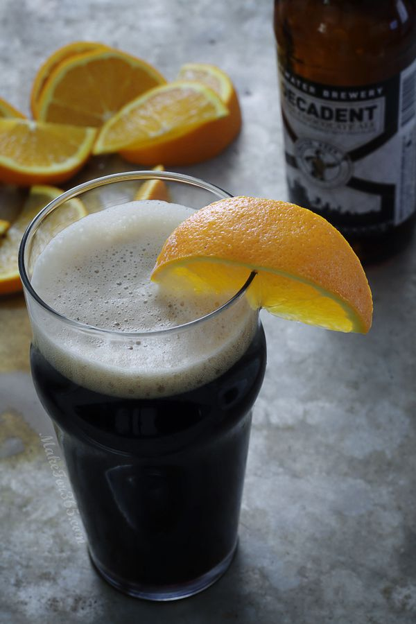 Orange Chocolate Beertail @ makefor365.com