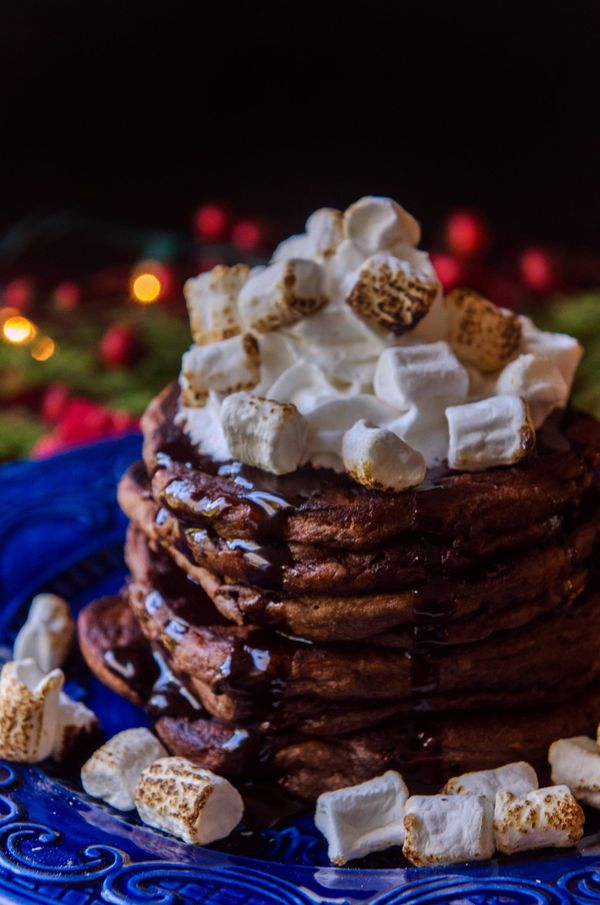 Recipe: Gluten-Free Mexican Hot Chocolate Pancakes — Gluten-Free Holiday Recipes from The Kitchn | The Kitchn