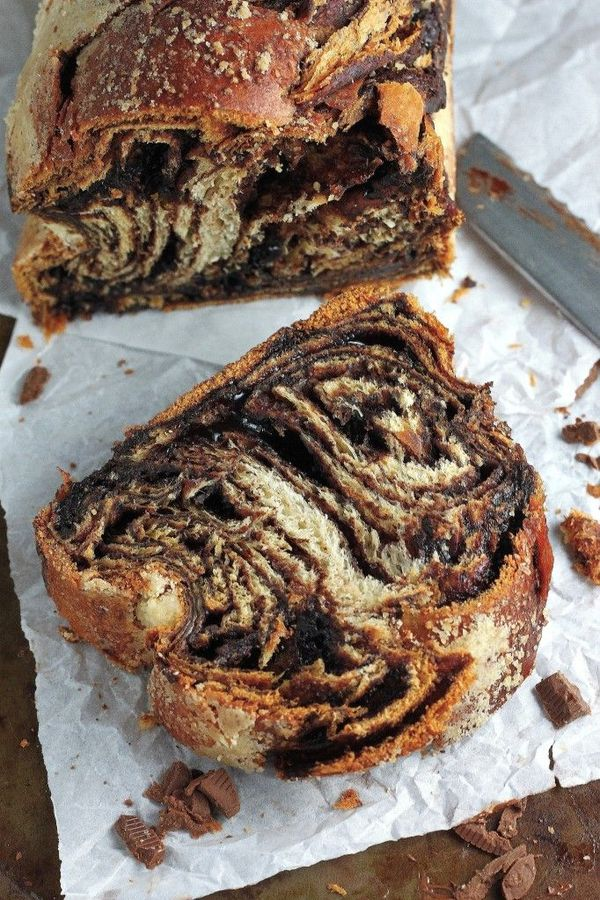 Chocolate Babka – Recipe from Martha Stewart; additional inspiration from Smitten Kitchen