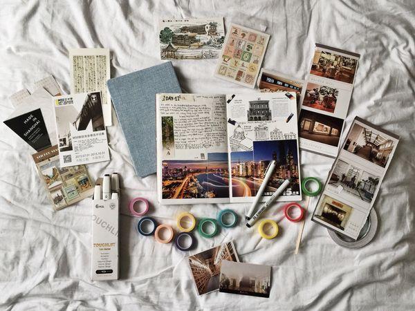 旅の思い出のアナログな残し方「トラベルジャーナル」が気になる。