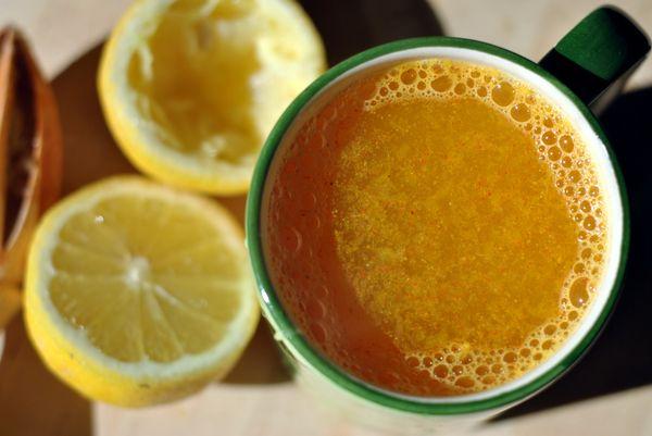 Golden Detox Drink. I gotta try this c: