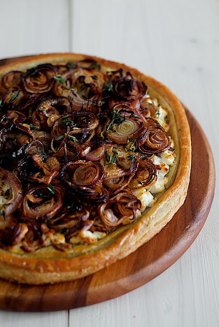 roasted-onion-shallot-tart-03 by pickyin, via Flickr