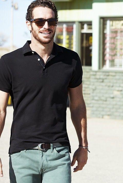 Tシャツに飽きた...スポーツ×清潔感を装備したCOOLなポロシャツで爽やかコーデ