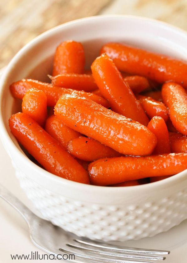 One of the best and easiest side dishes ever - Brown Sugar Glazed Carrots