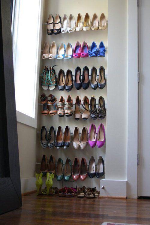 どんどん増える靴をどう収納する?アイデア満載☆靴の収納例をご紹介☆   folk