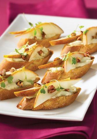 Quick, Easy & Elegant Party Appetizer: Crostini | QuickMealHelp.com