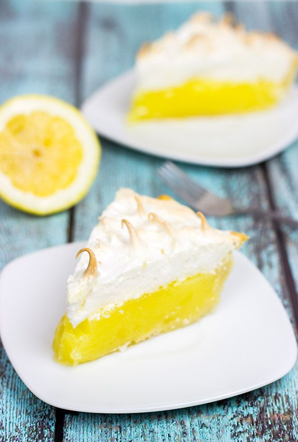 This Classic Lemon Meringue Pie is a delicious combination of tart and sweet!  PERFECT for summer!