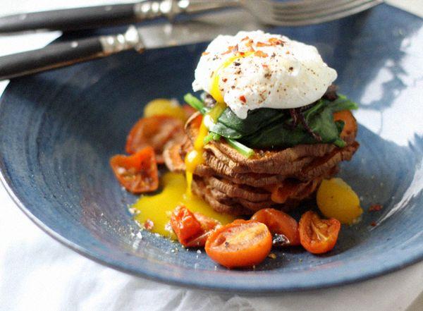 Veggie & Egg Tower of Power