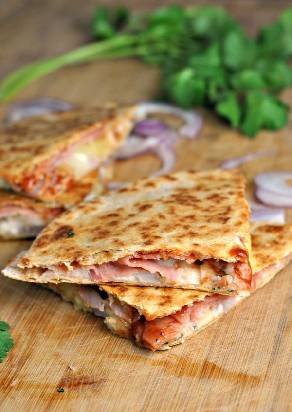 Hawaiian Pizza Quesadillas recipe