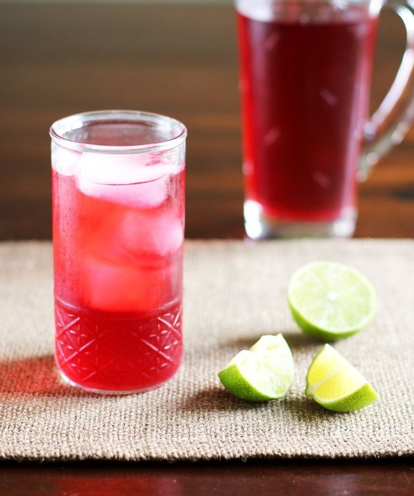 Drink Recipe: Cold Brewed Jamaica (Hibiscus Iced Tea)