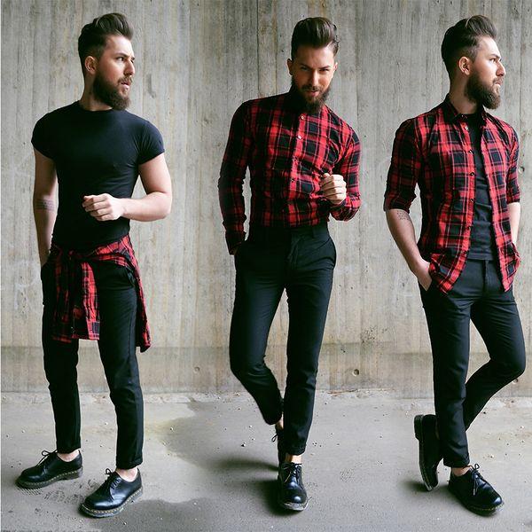 ネルシャツのメンズコーデ決定版|着こなしを無限大に広げるテクニック満載