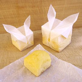 風船うさぎのチーズマフィン