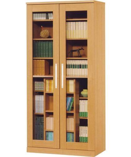 スライド書棚(カルテット2 LBR)