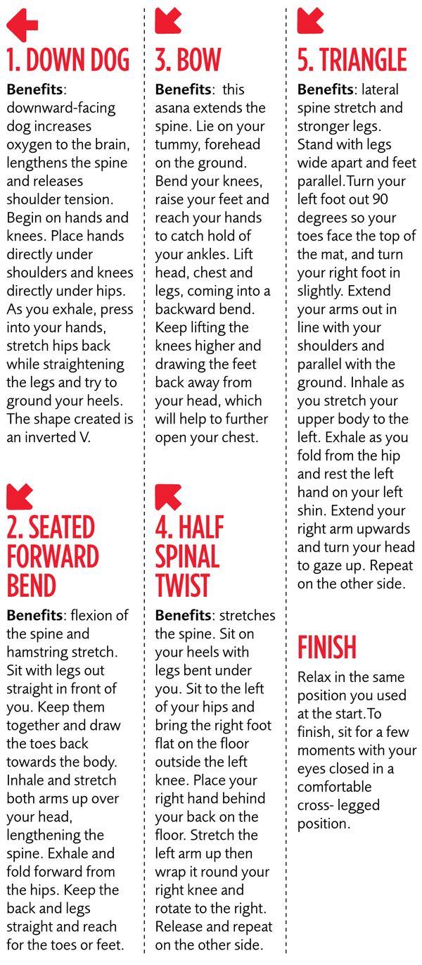 Print It Minute BodyShaping Yoga Workout  Yoga Workouts