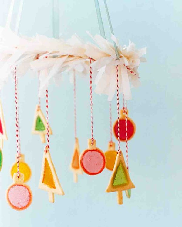 Stained-Glass Cookie Ornaments