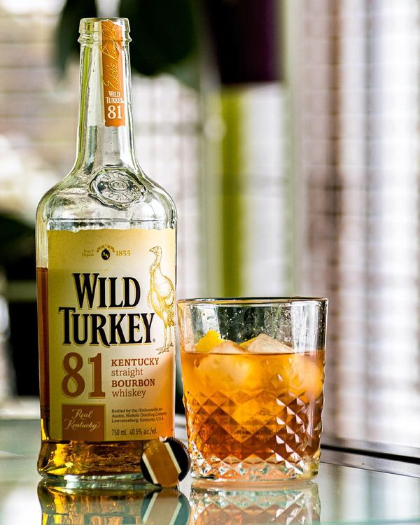 It starts. The #OldFashioned has been. Let #NYE celebrations commence! #WildTurkey