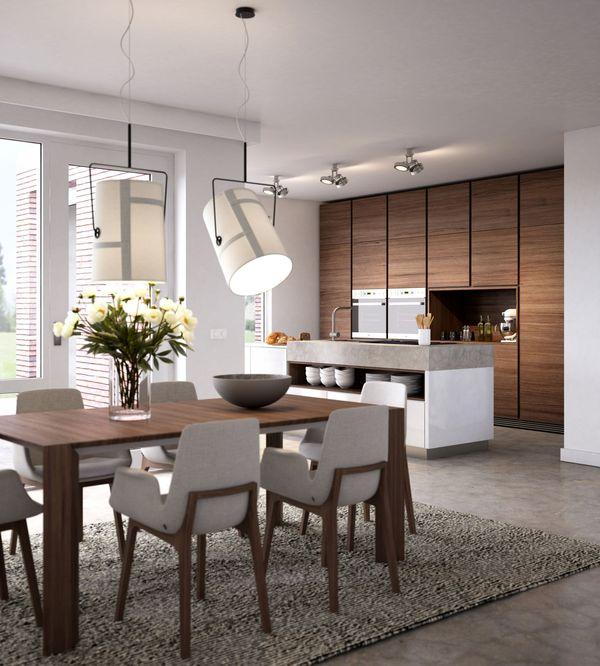 Hoogglans Witte Keuken Met Betonblad : Keuken Met Nis