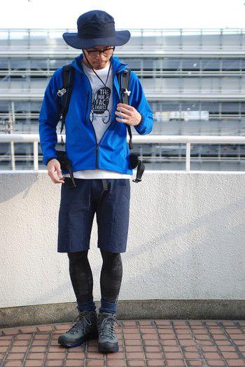 春夏トレッキング|今季の服装はモード&本物装備志向のメンズスタイルで!